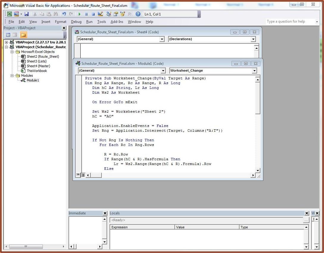 Excel Vba Insert Column In Sheet