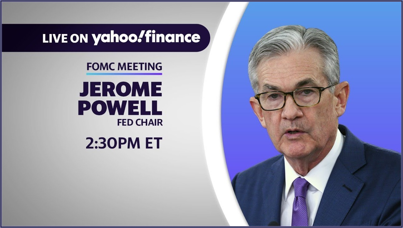 Federal Reserve Announcement Today Live