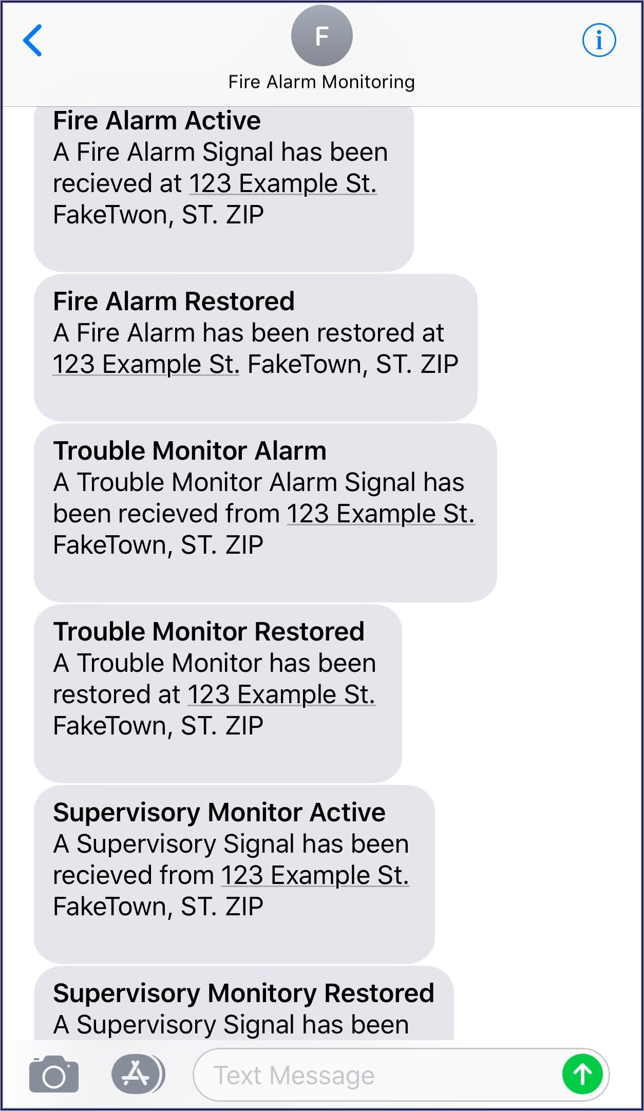Fire Alarm Test Announcement Script
