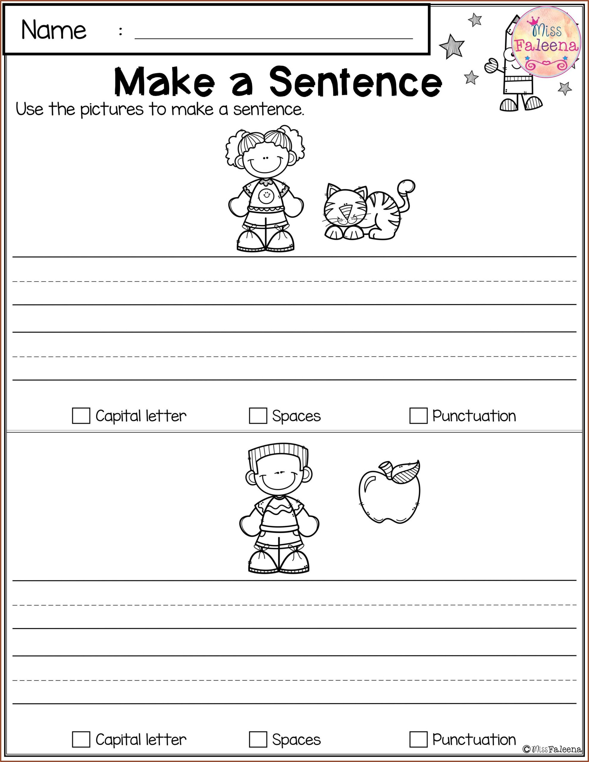 First Grade Enrichment Worksheets