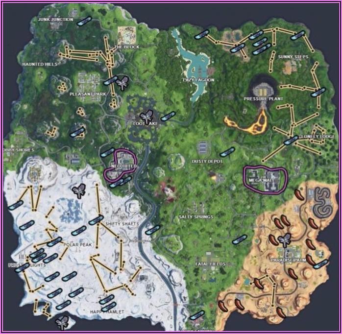 Fortnite Map Season 10 Today