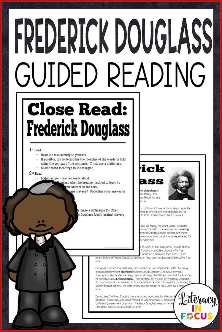 Frederick Douglass Timeline Pdf