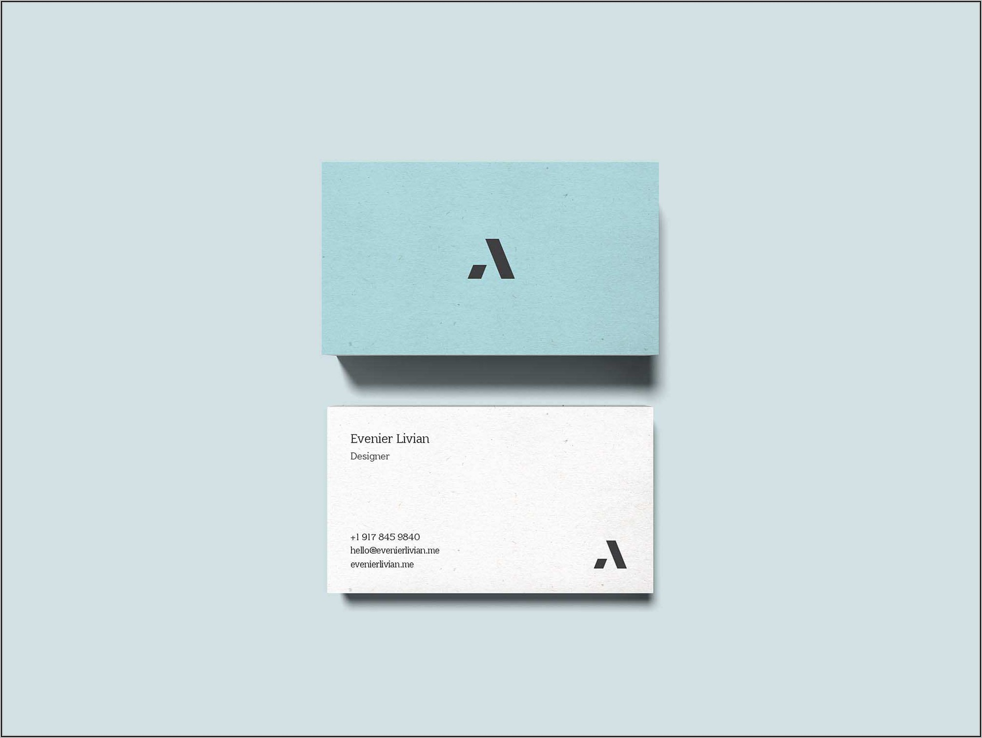 Free Avery Business Card Template 28878