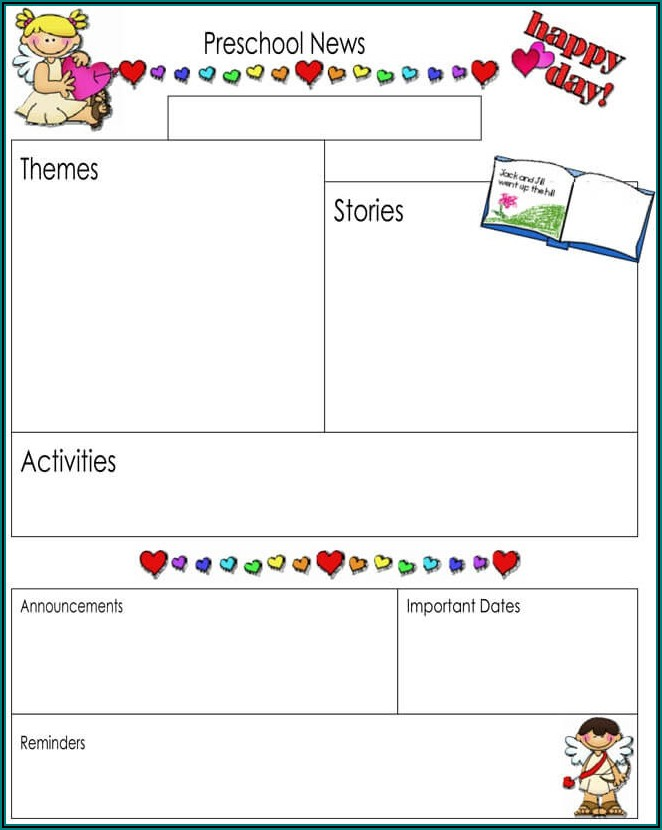 Free Classroom Newsletter Templates Word