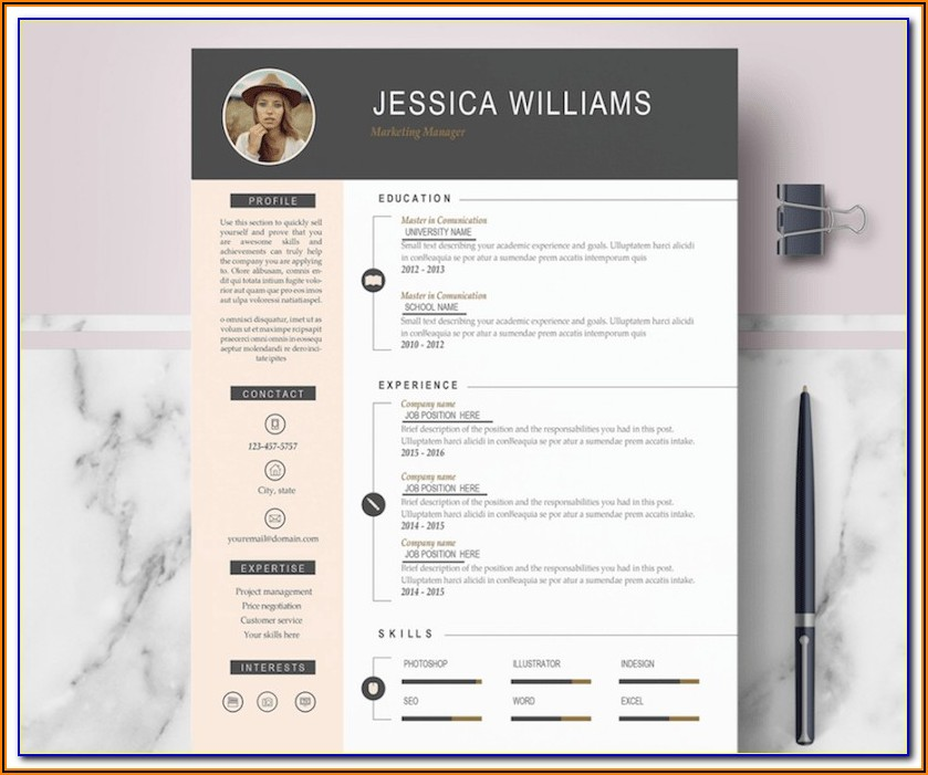 Free Cv Template Word Download