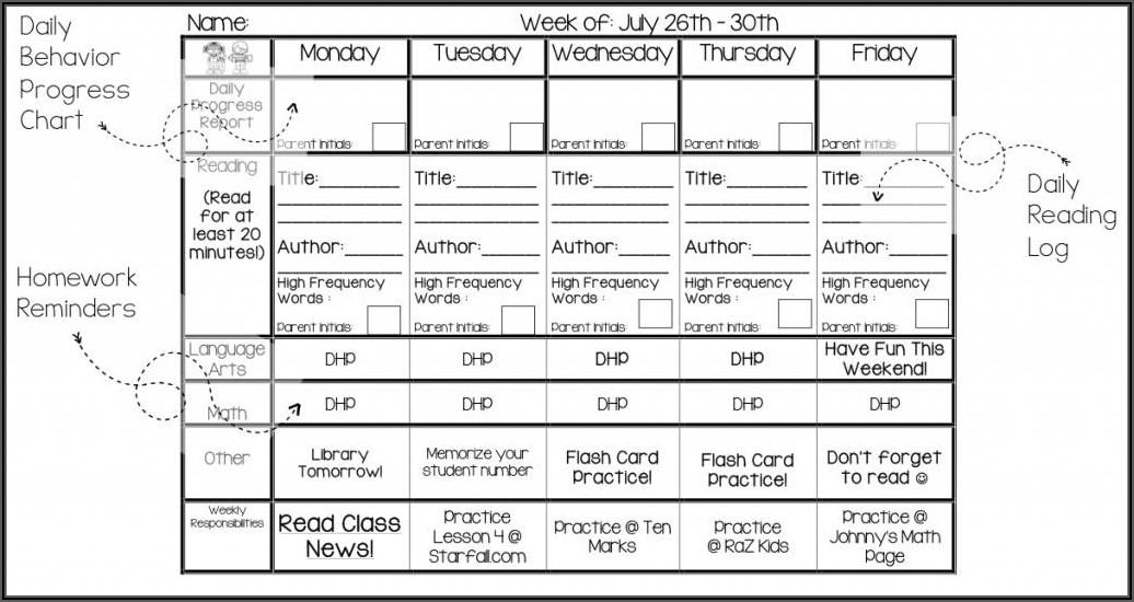 Free Editable Newsletter Template For Preschool
