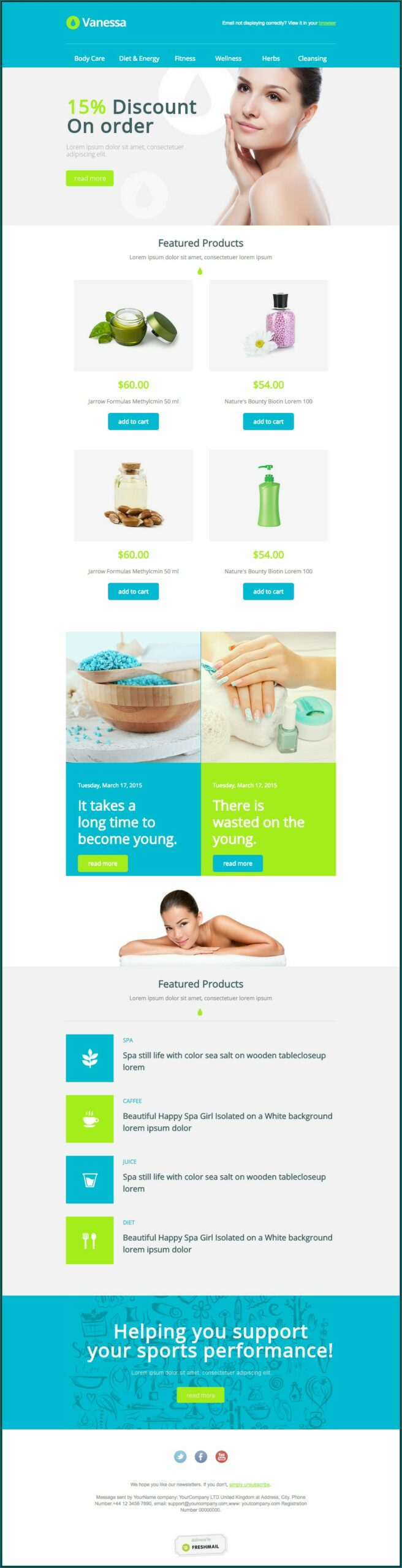 Free Health Newsletter Templates