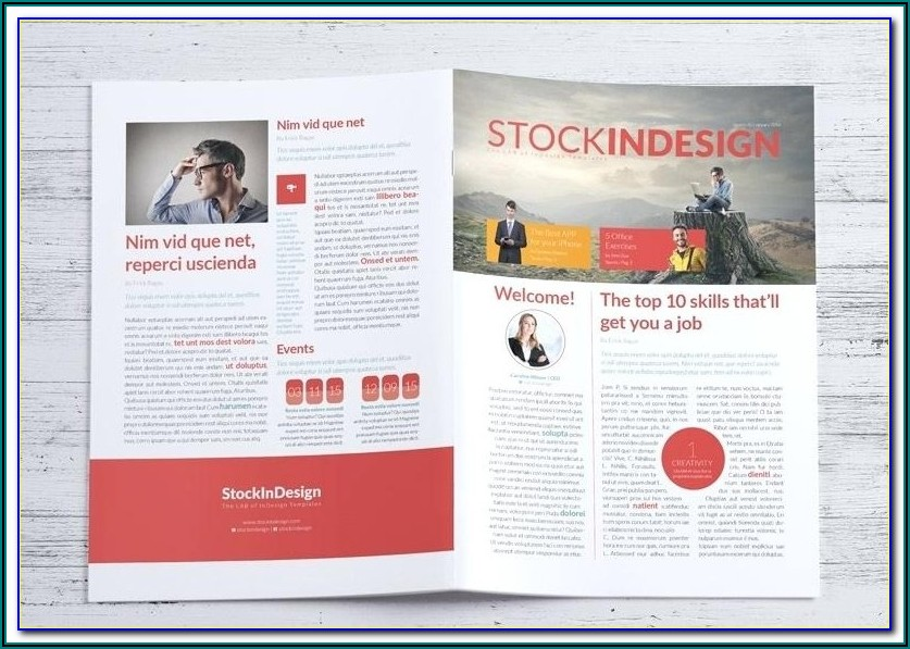 Free Indesign Email Newsletter Templates