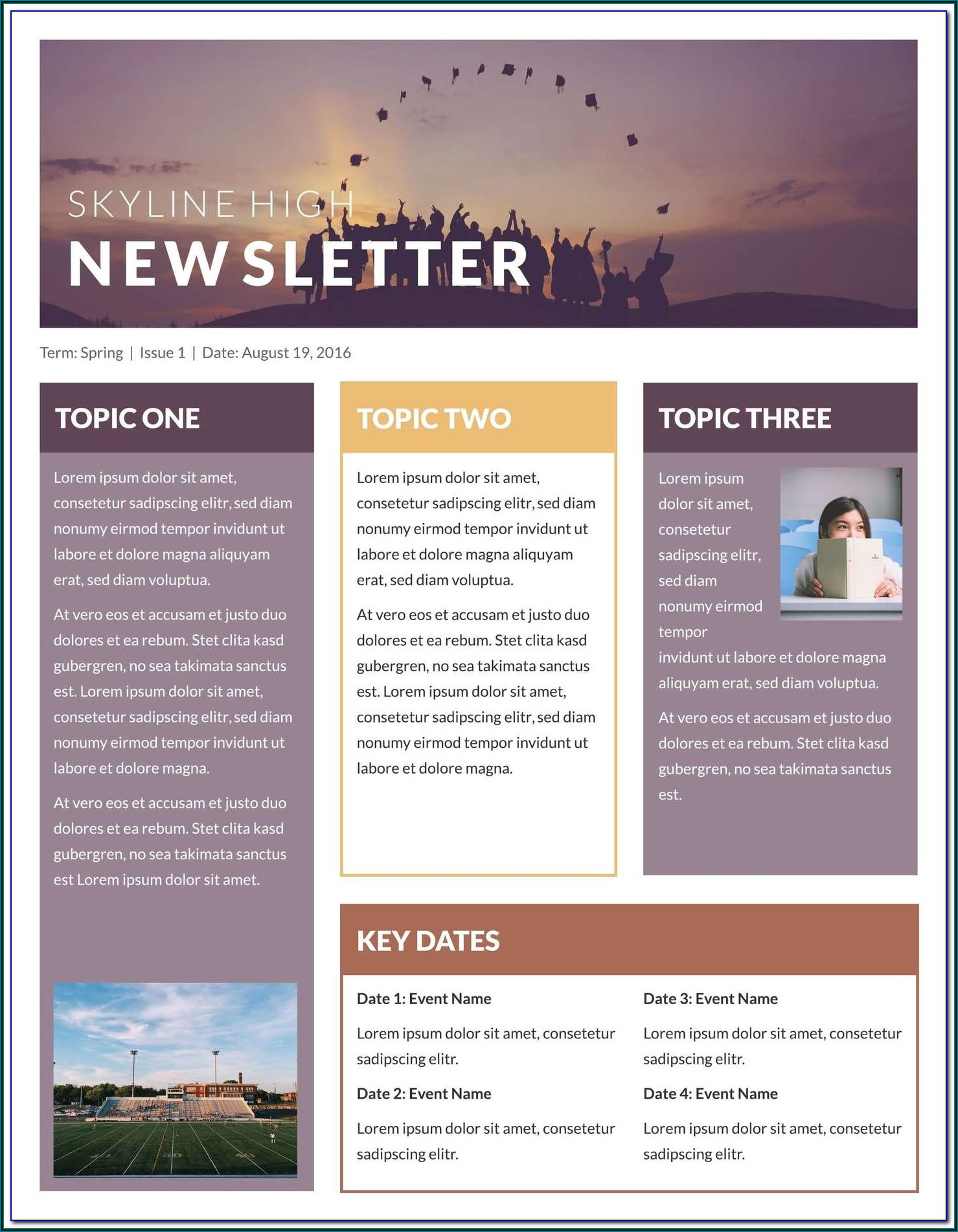 Free Ms Publisher Newsletter Templates