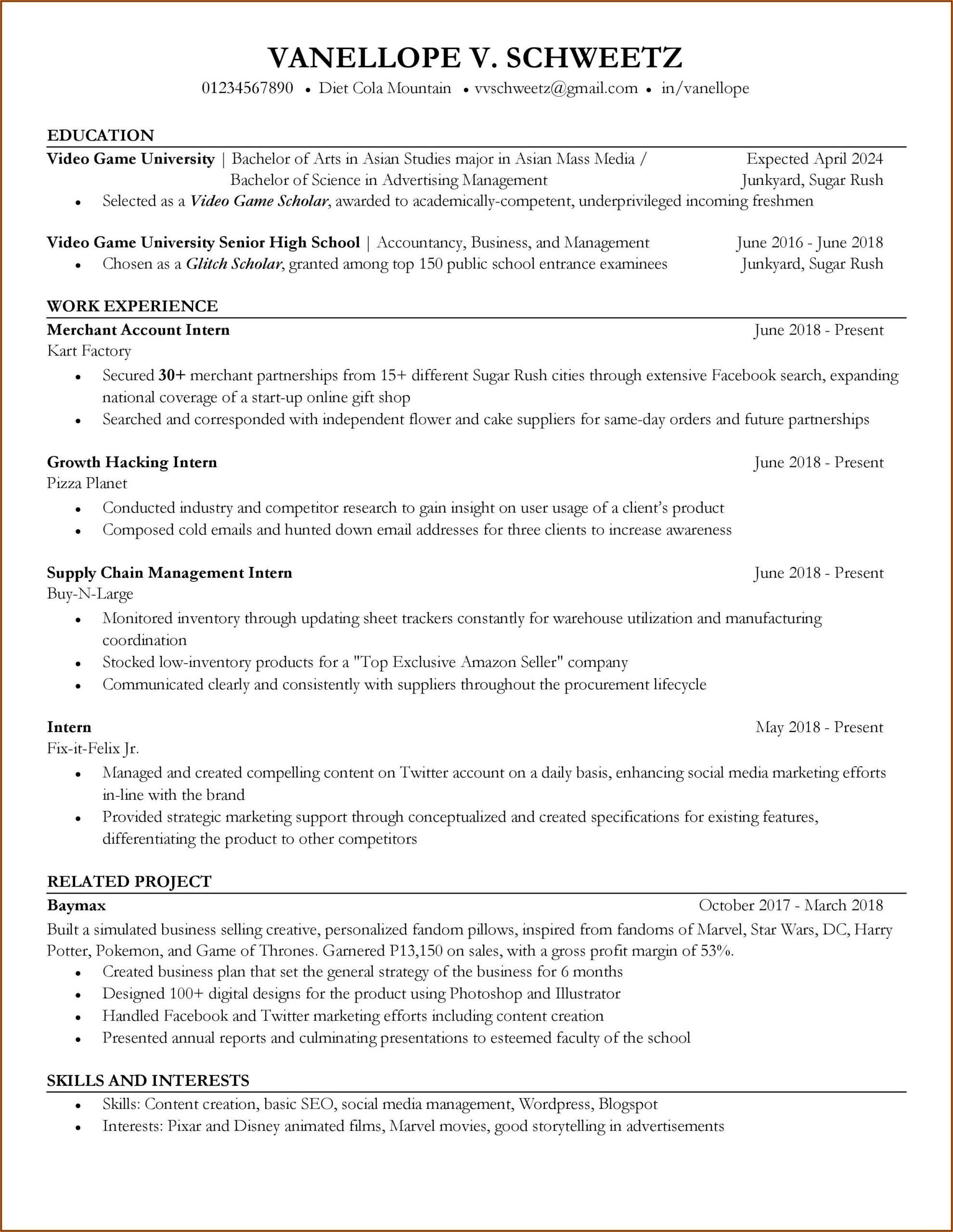 Free Resume Builder And Download Reddit