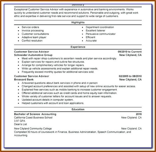 Free Resume Builder Online No Sign Up