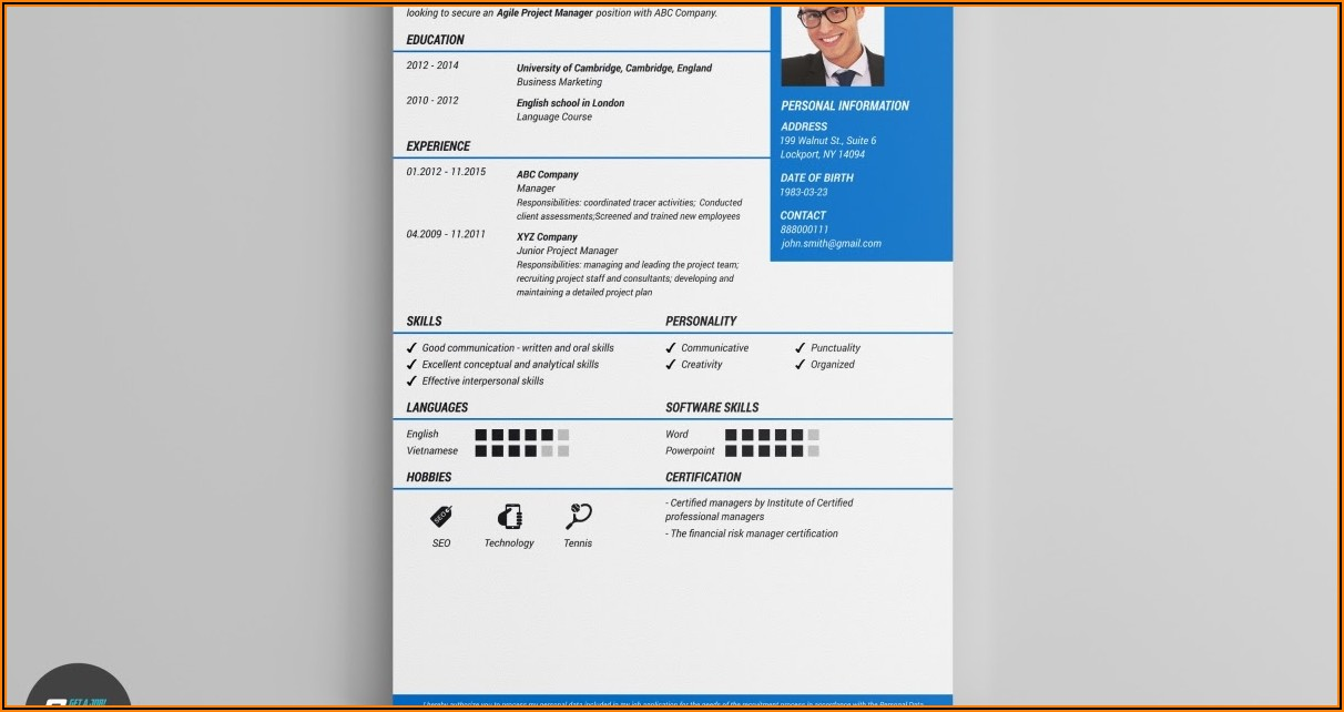 Free Resume Maker And Download
