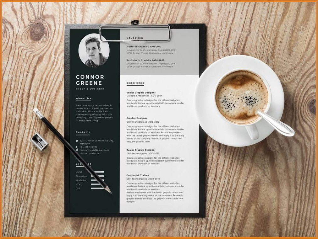 Free Resume Templates For Apple Computers