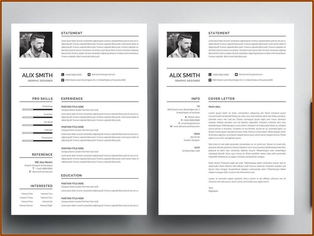 Free Word Resume Template Modern