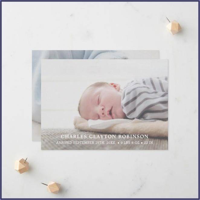 Gender Neutral Birth Announcements