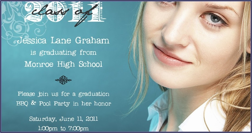 High Quality Graduation Announcements