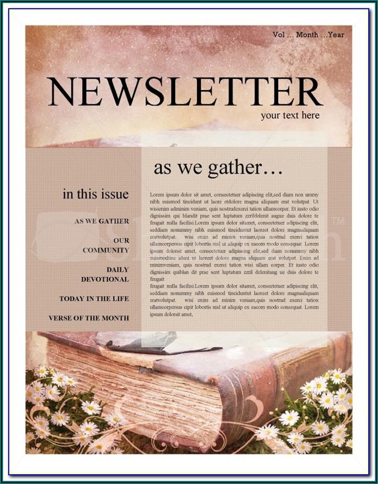 Hoa Newsletter Templates Word