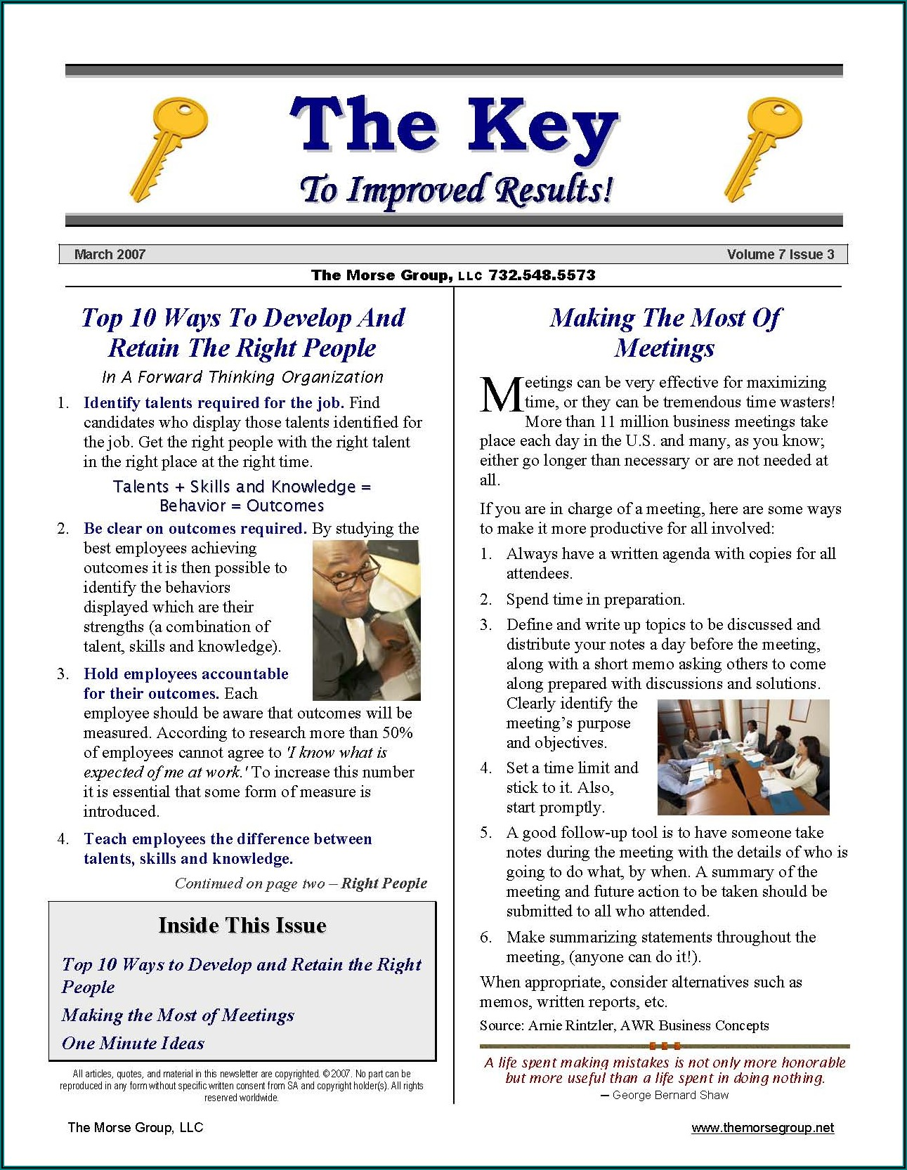 Internal Company Newsletter Examples
