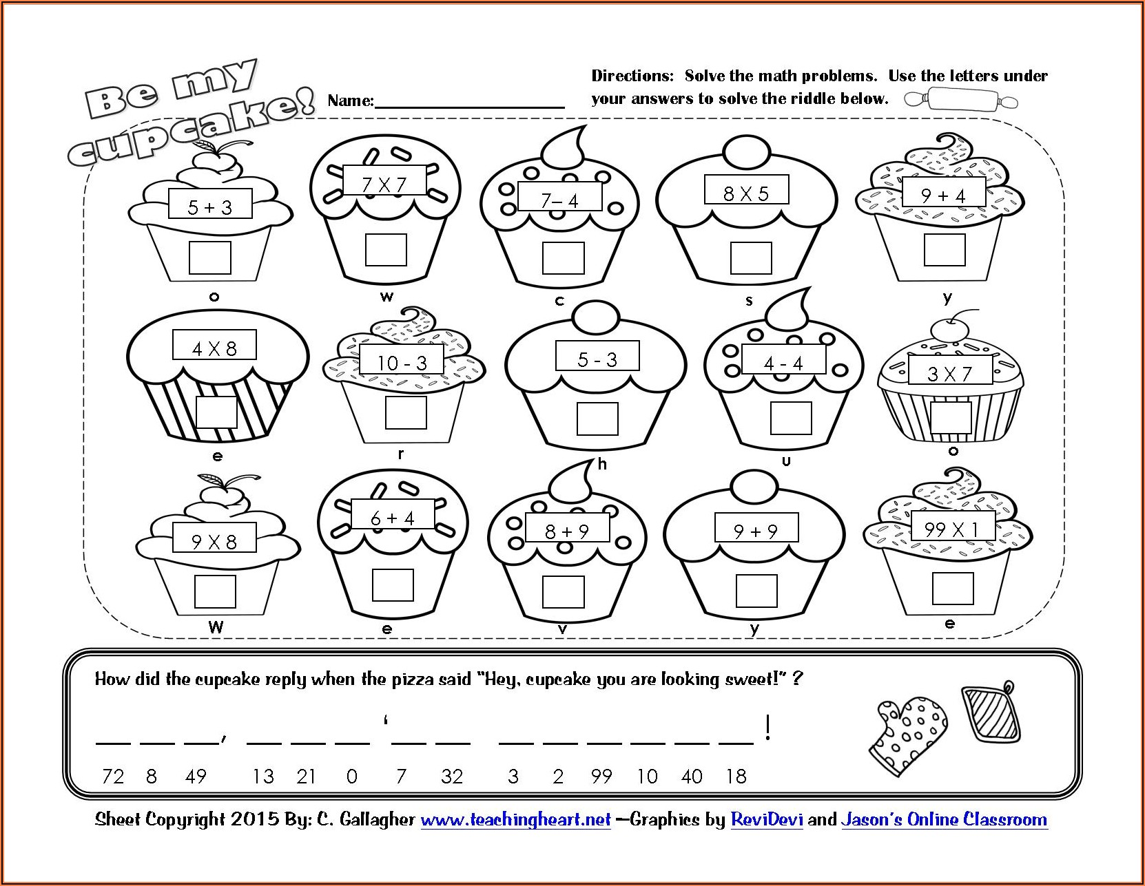 Intro To Order Of Operations Worksheets