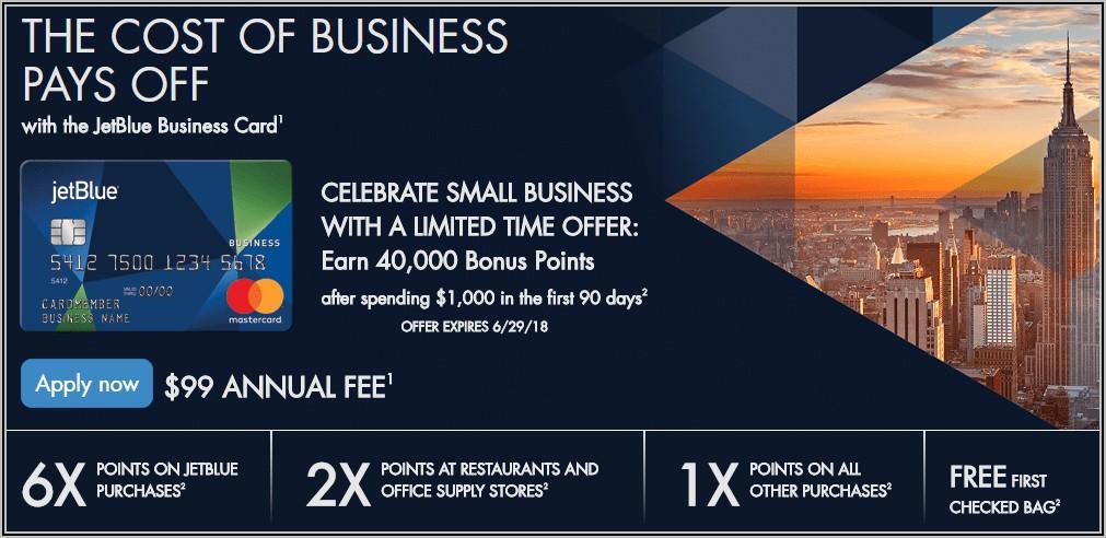 Jetblue Business Card Benefits