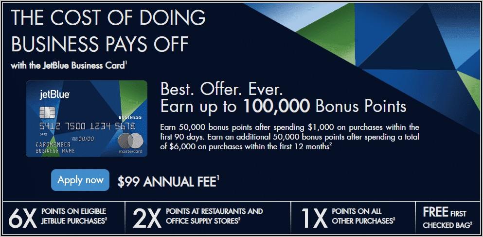 Jetblue Business Card Bonus