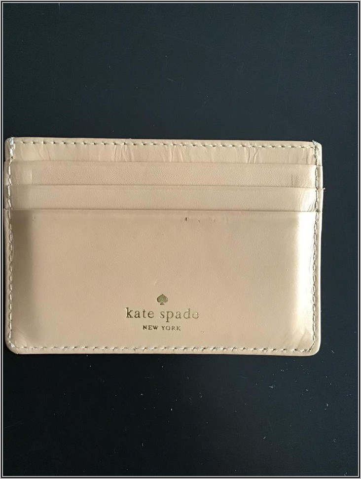 Kate Spade Business Card Holder Canada