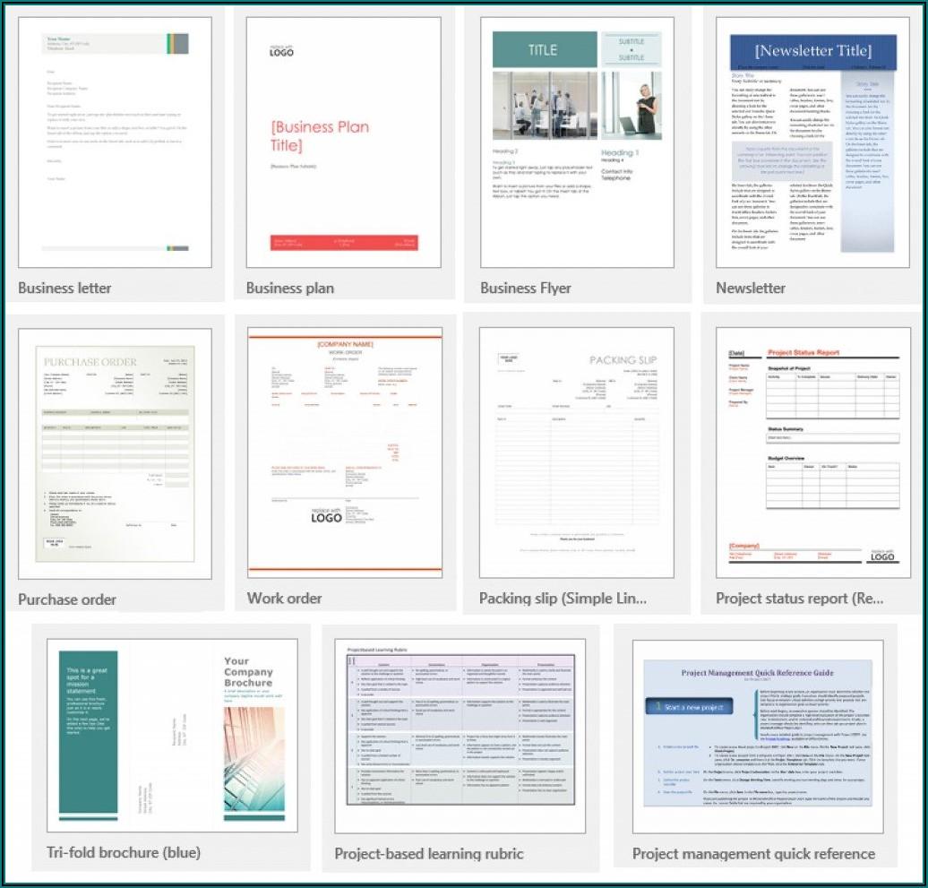 Microsoft Office Newsletter Templates