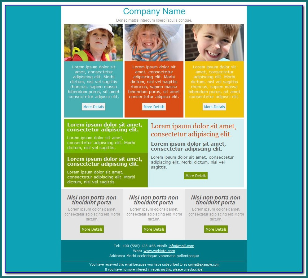Microsoft Word Email Newsletter Templates