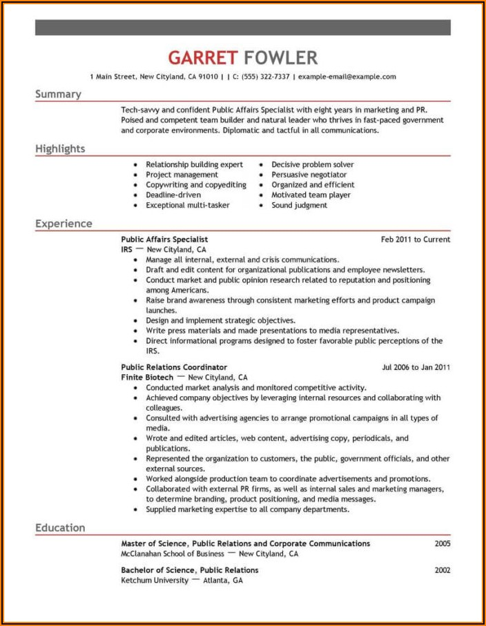 Military To Civilian Resume Objective Examples