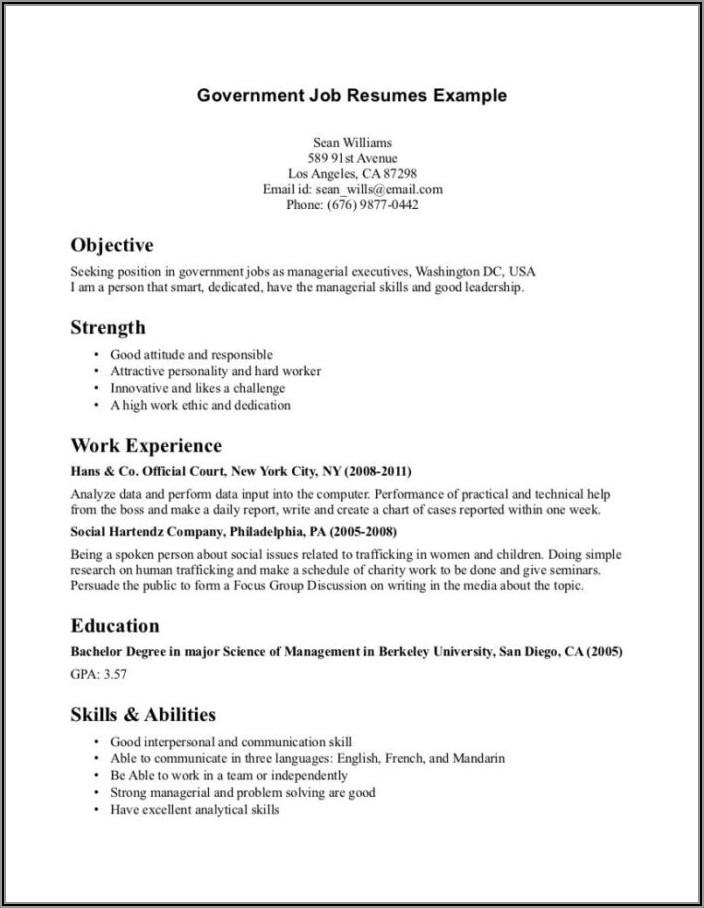 Military Veteran Resume Writer