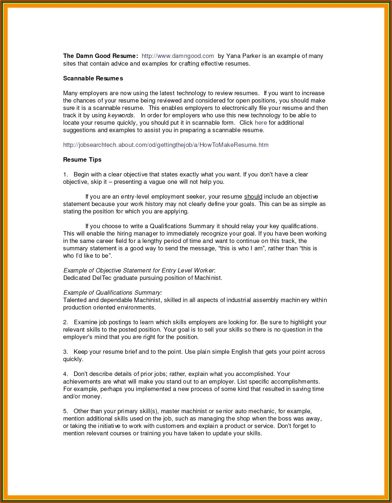 Monster Resume Writing Services India