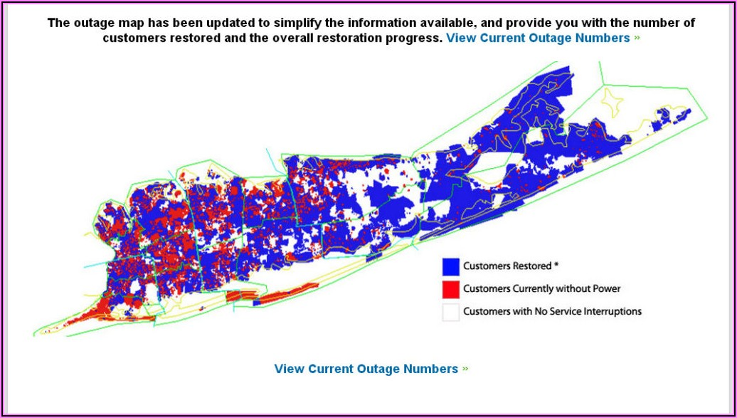 National Grid Outage Map Long Island