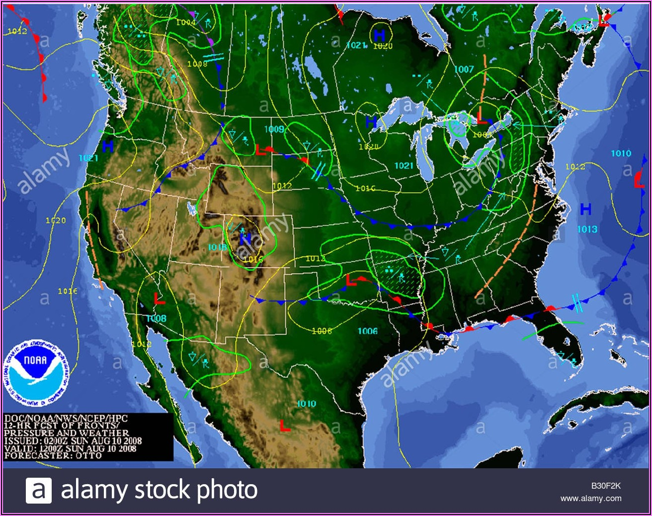 North America Weather Radar Map