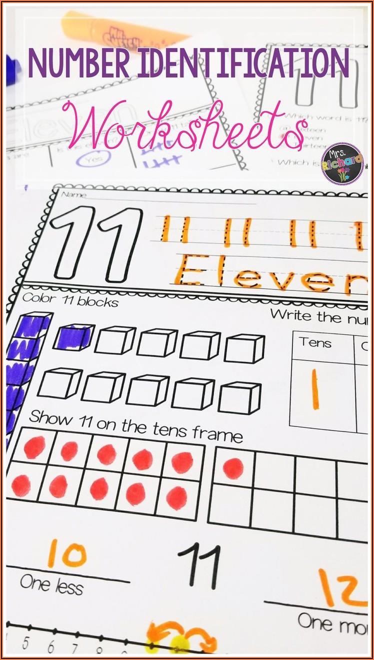 Number Worksheets 11 20