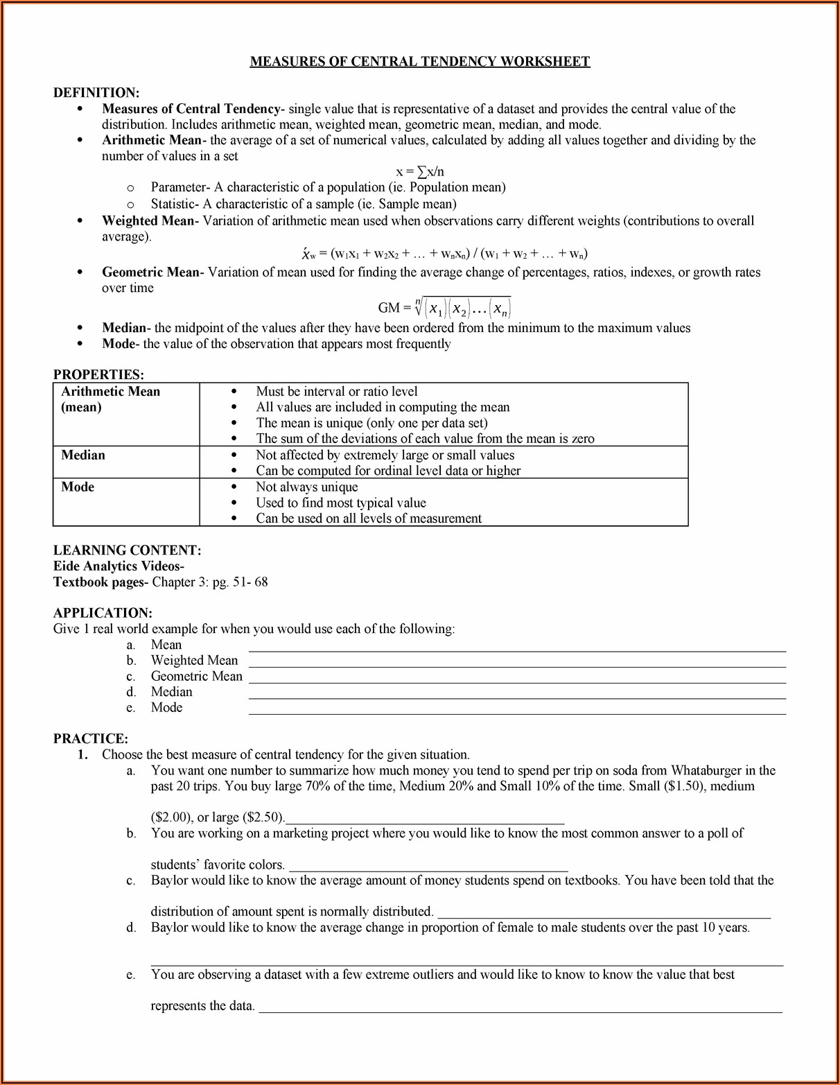 Numbers Large And Small Chapter 3 Worksheet