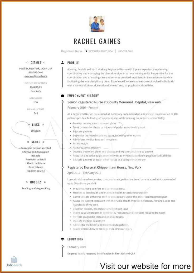 Nurse Resume Writing Service Reviews