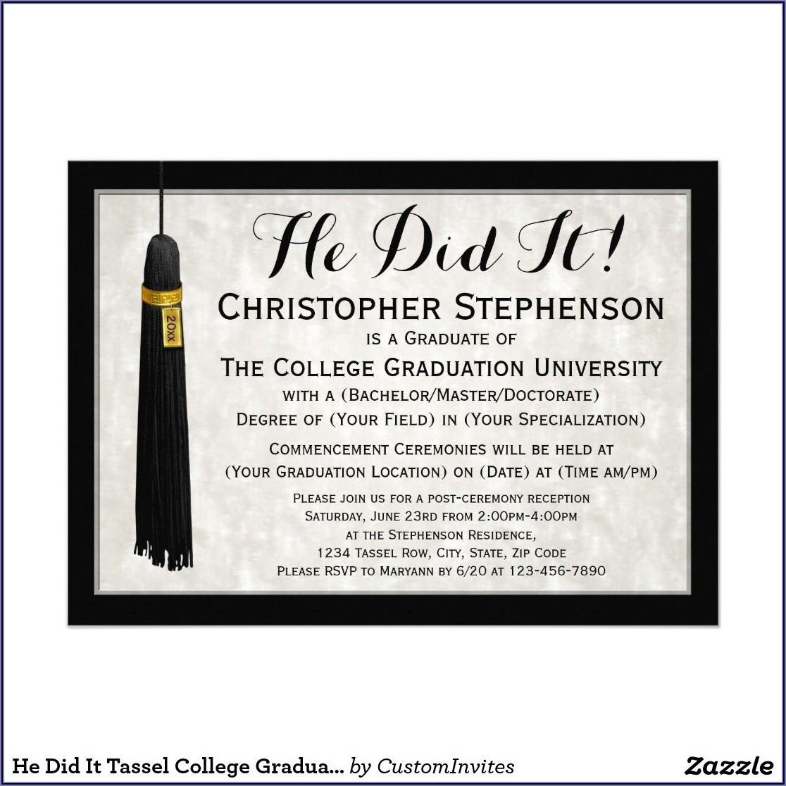 Office Depot College Graduation Announcements
