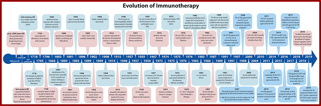 Pancreatic Cancer Development Timeline
