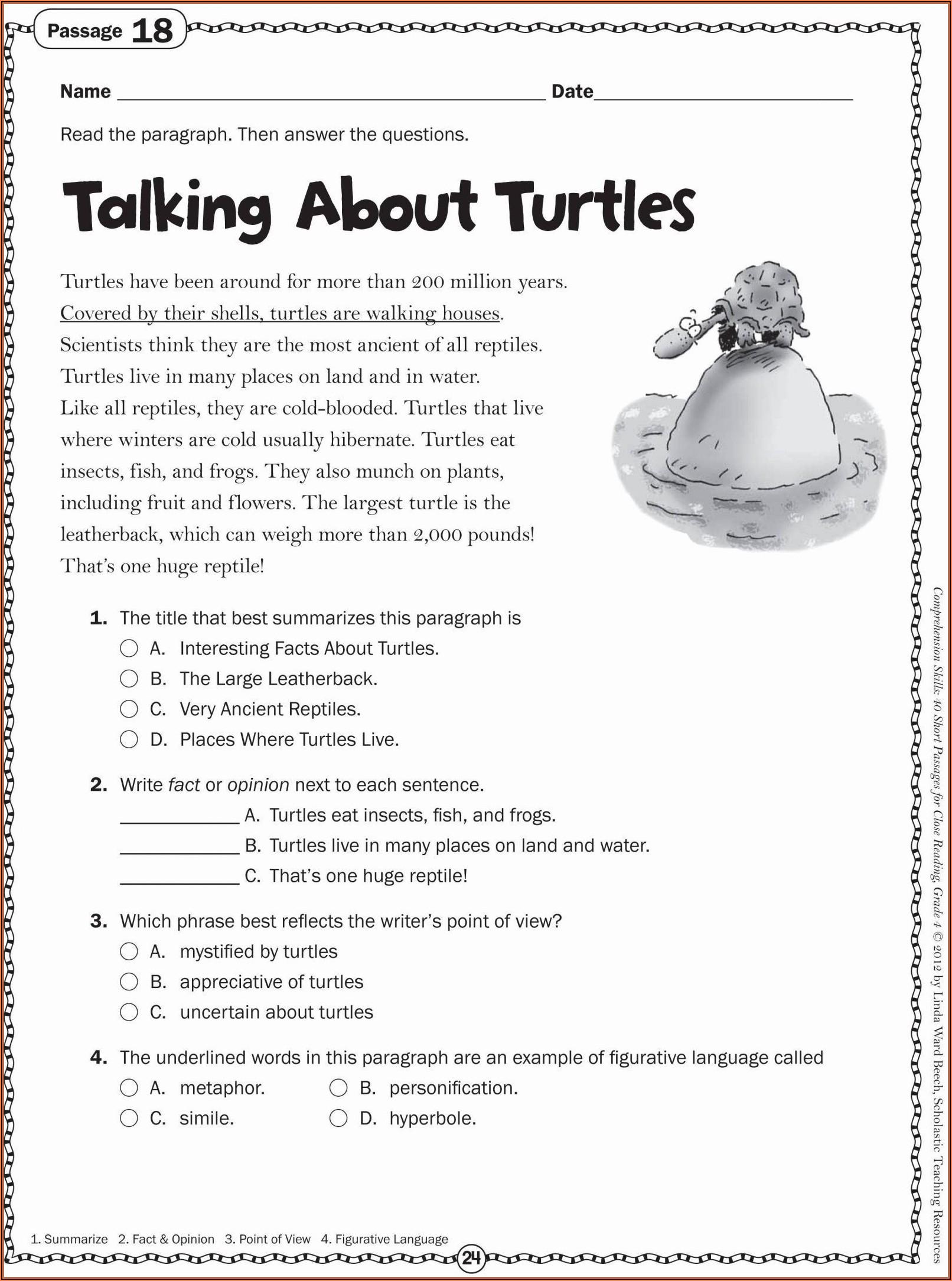 Printable Worksheets For 2nd Grade
