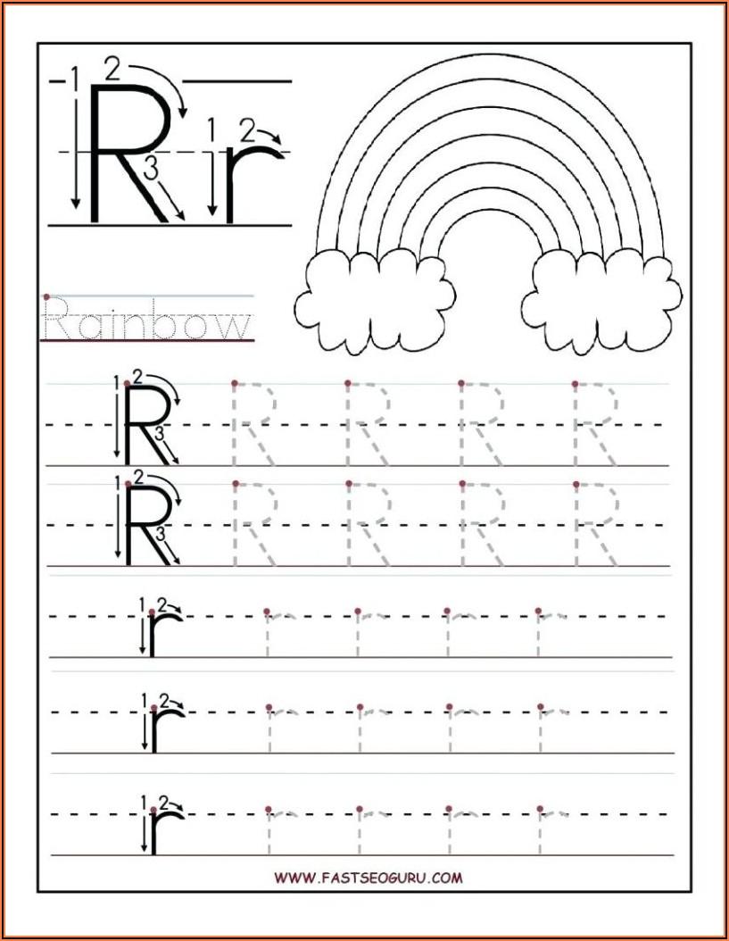 Printable Worksheets For Kindergarten Writing