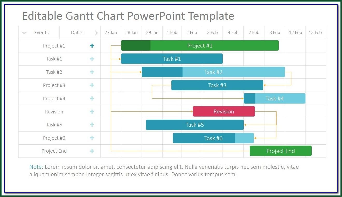 Project Gantt Chart Template Xls