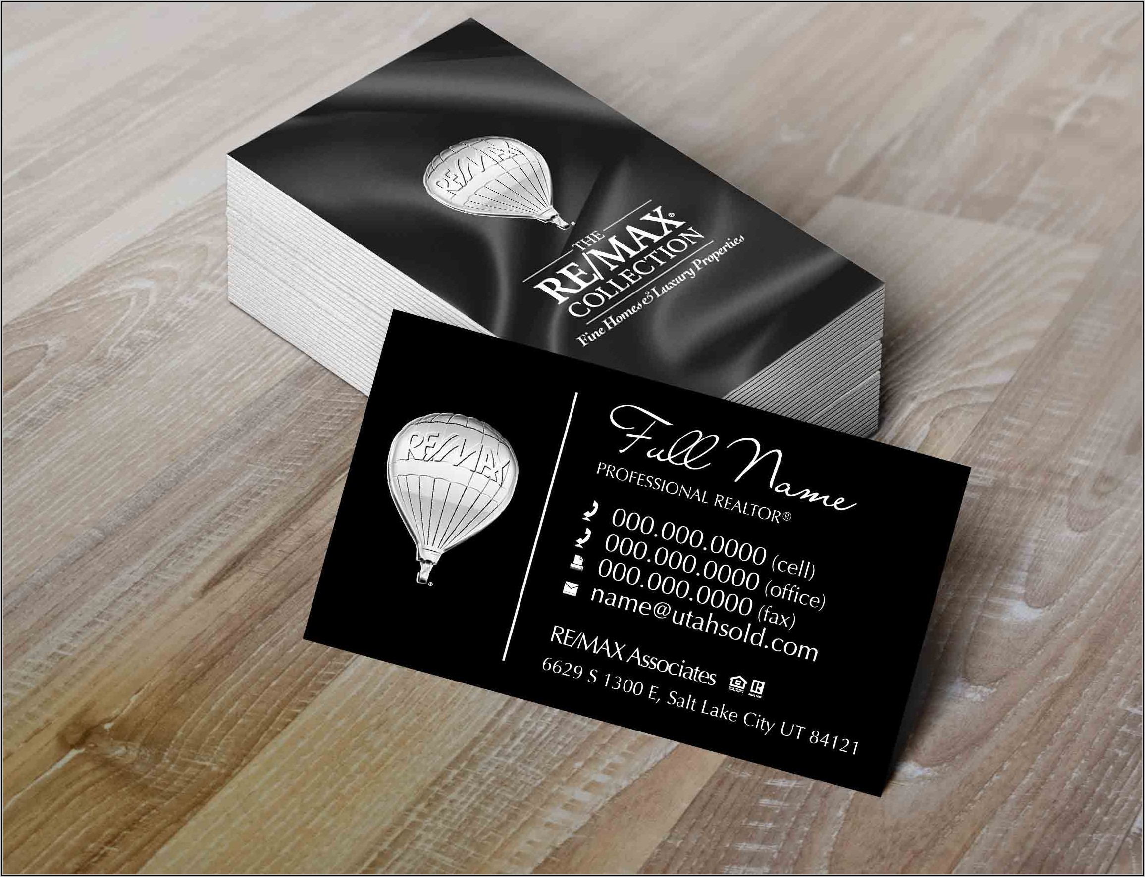 Remax Business Cards Canada