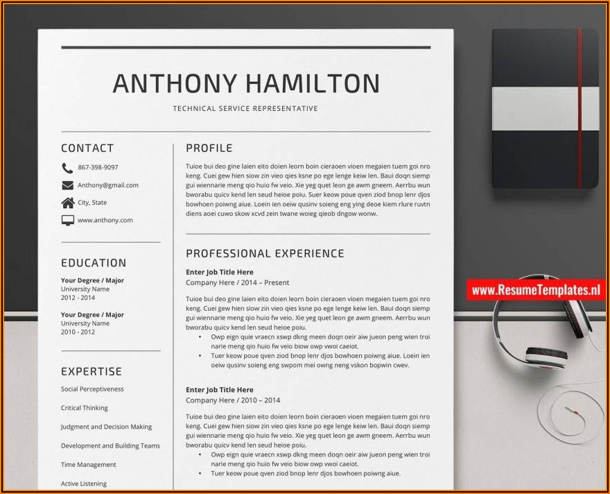 Resume Format For Machinist