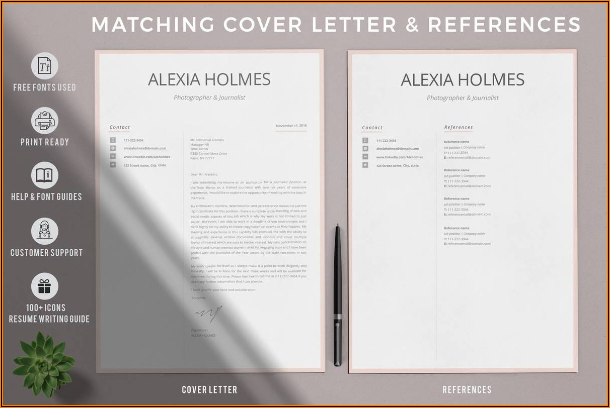 Resume Layout Word Download