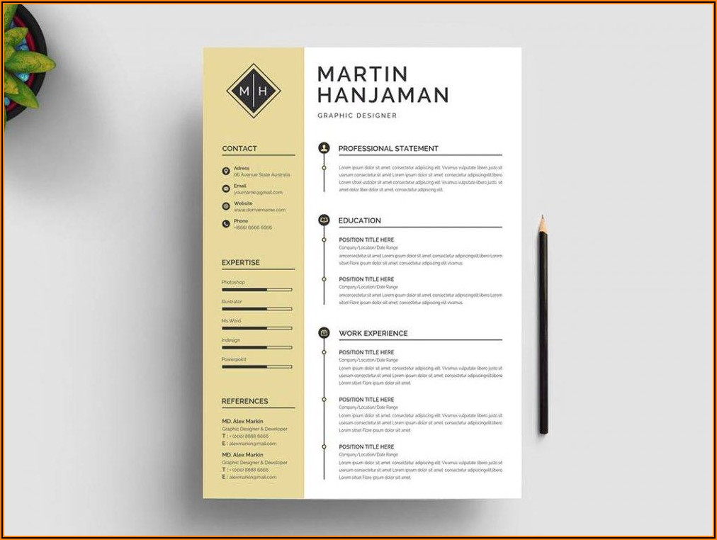 Resume Template Free Word Document