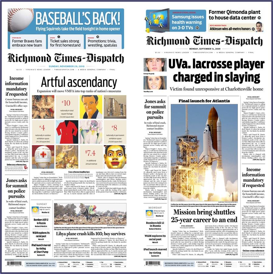 Richmond Times Dispatch Marriage Announcements