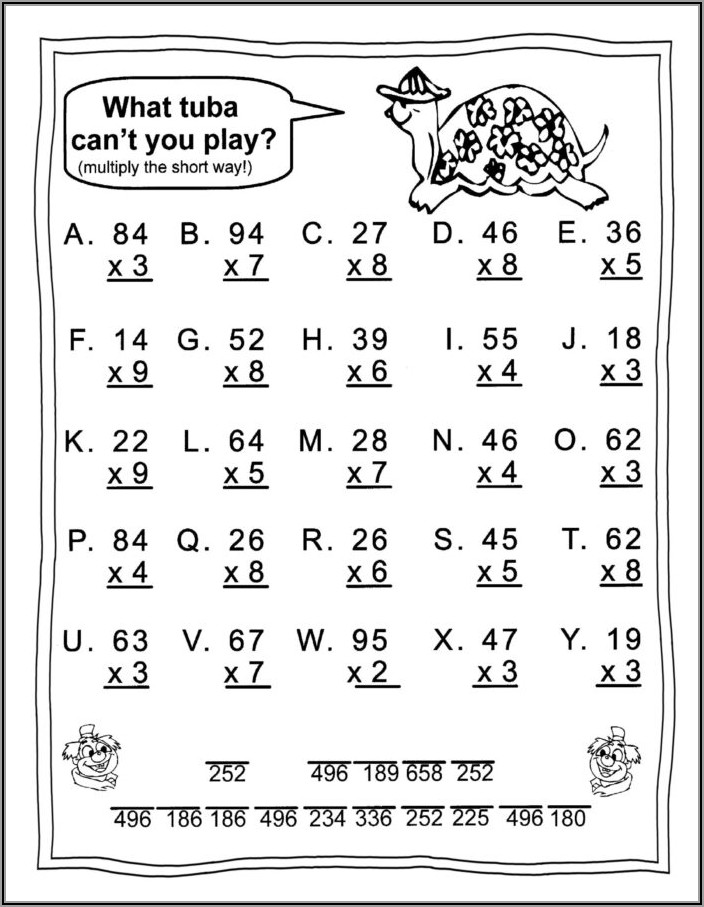 Roman Numerals Worksheet For Grade 4 Pdf