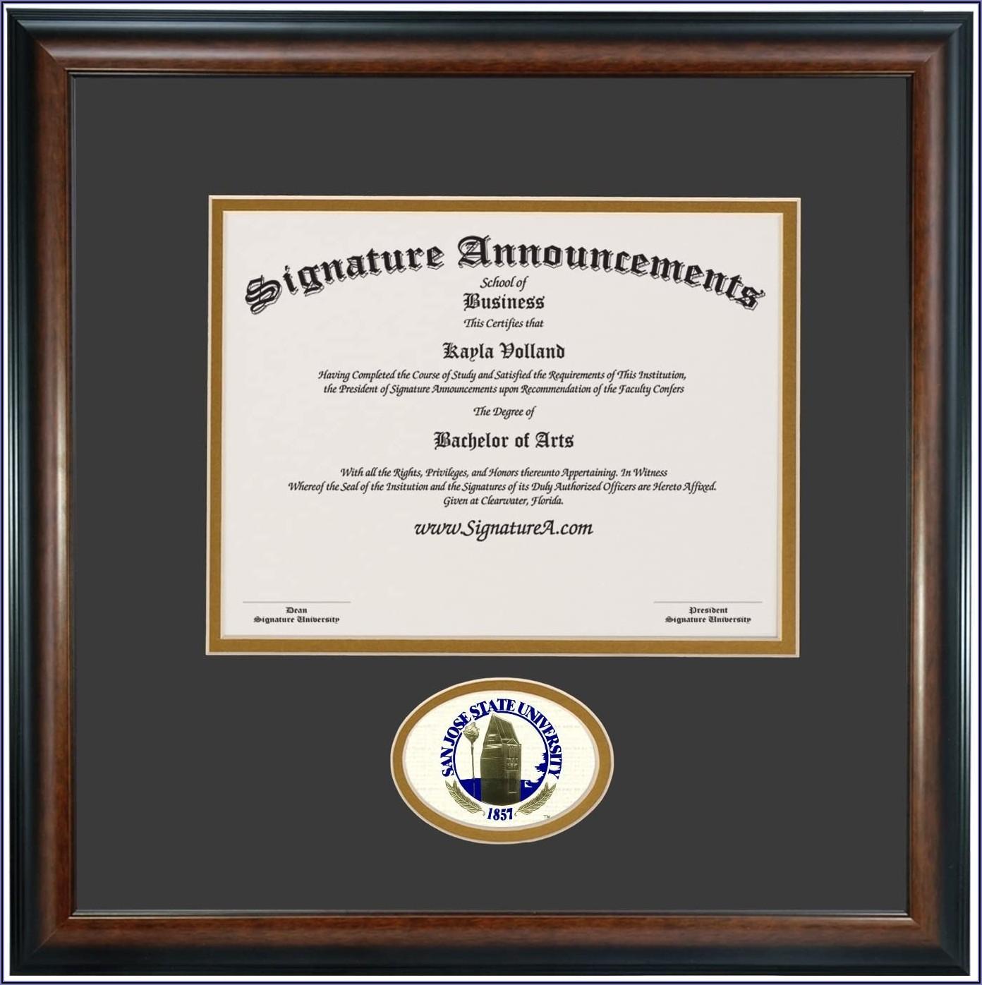 San Jose State Graduation Announcements