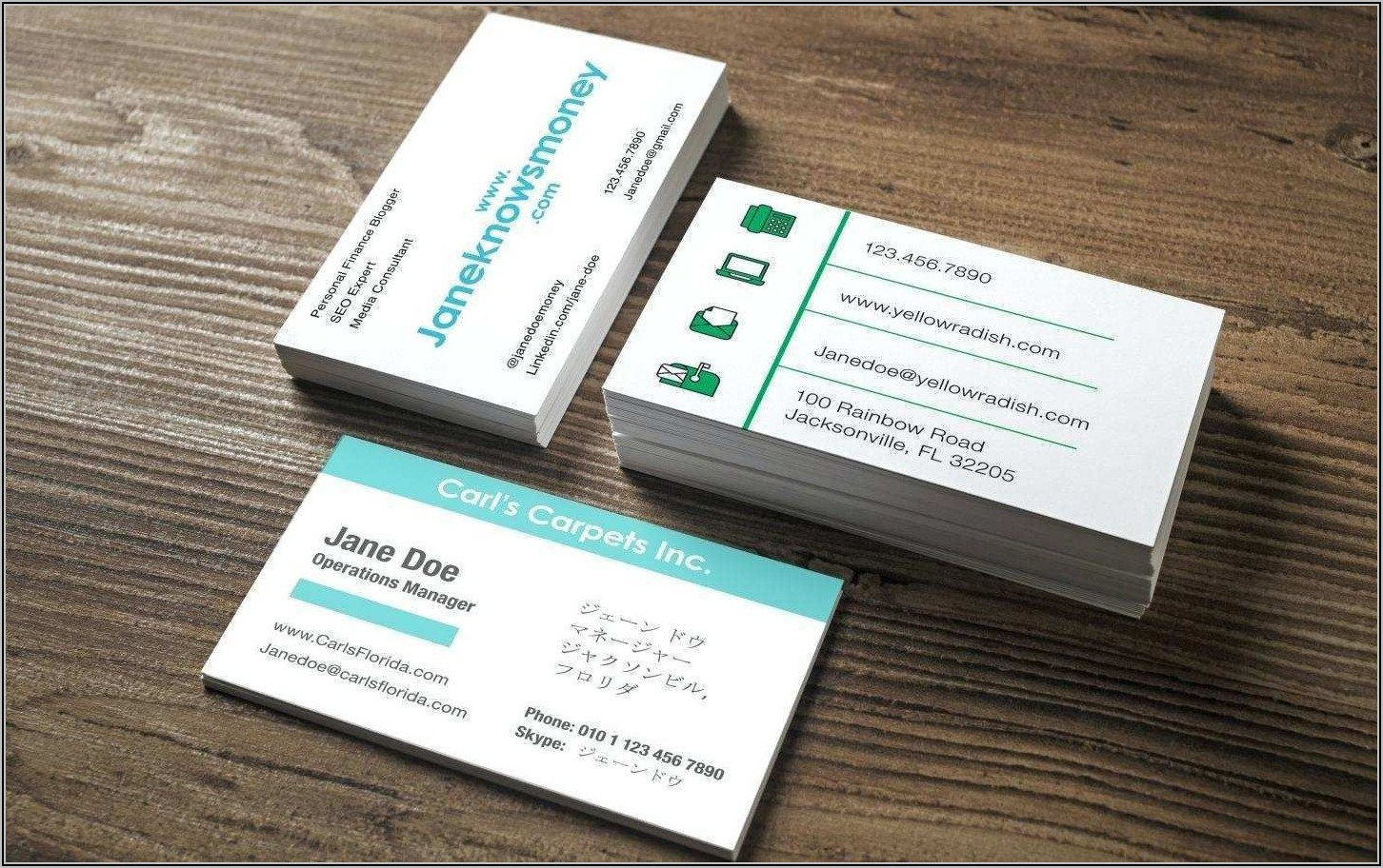 Staples Business Cards Canada
