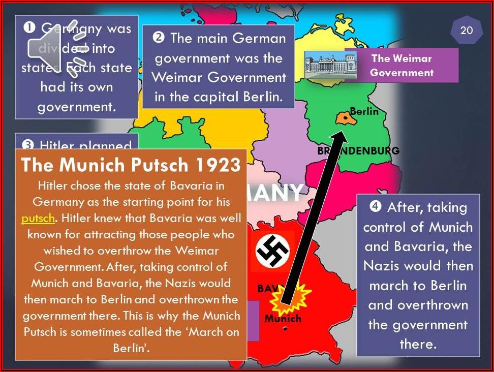 Timeline Of Hitler's Rise To Power Ks2